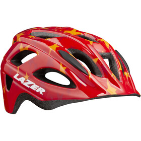 Lazer P'Nut Helmet Kinder red stars